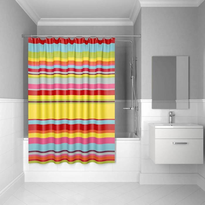 Фото Штора для ванной комнаты, 200x240 см, полиэстер, IDDIS Basic 290P24Ri11 0