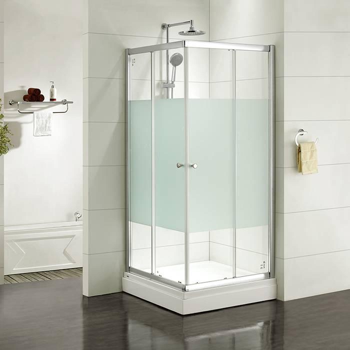 Фото Дверки душевые квадратные, шелк, шелк, стекло матовое, поддон низкий, 90x90x185 см, IDDIS Mirro M10S099i23 0