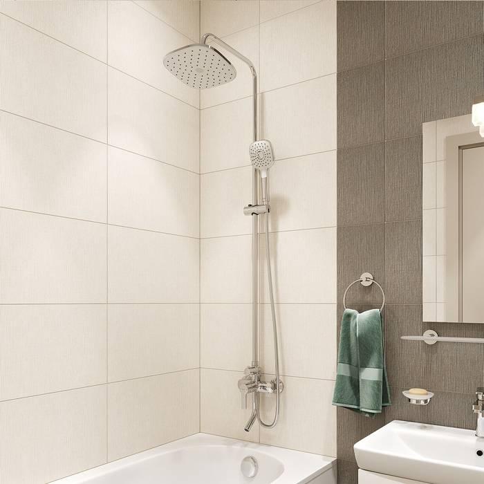 Фото Смеситель для ванны с верхним душем, IDDIS Sena SENSB3Fi06 1