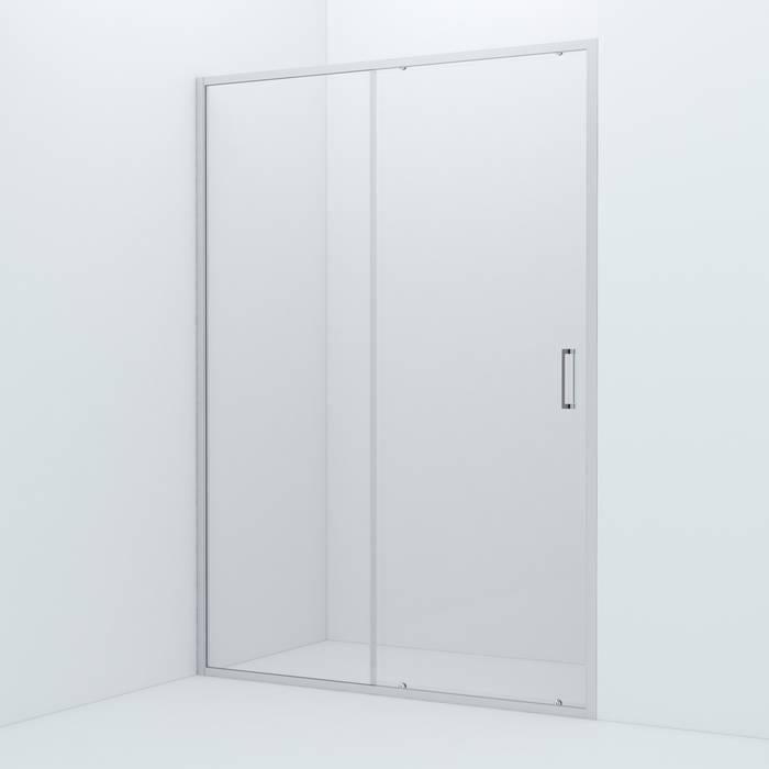 Фото Душевая дверь алюминиевый профиль 140х195 IDDIS Zodiac ZOD6CS4i69, глянцевый 0