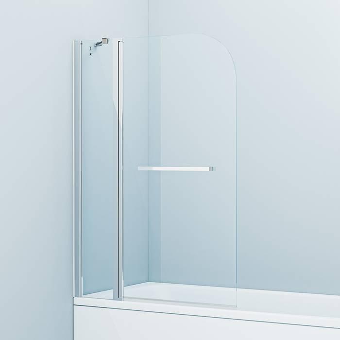 Фото Шторка на ванну, глянцевый алюминиевый профиль 100х140, IDDIS Ray RAY6CS0i90 0