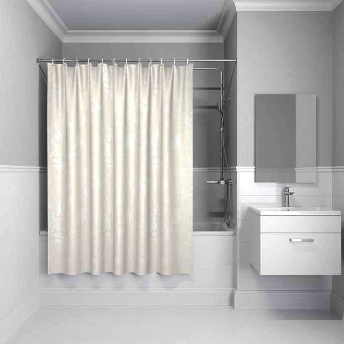 Фото Штора для ванной комнаты, 180x180 см полиэстер, IDDIS Basic B59P118i11 0