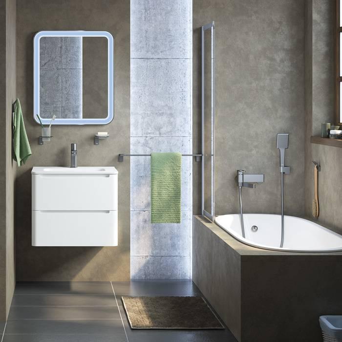Фото Смеситель для ванны IDDIS Slide SLIGM00i02, графит 4