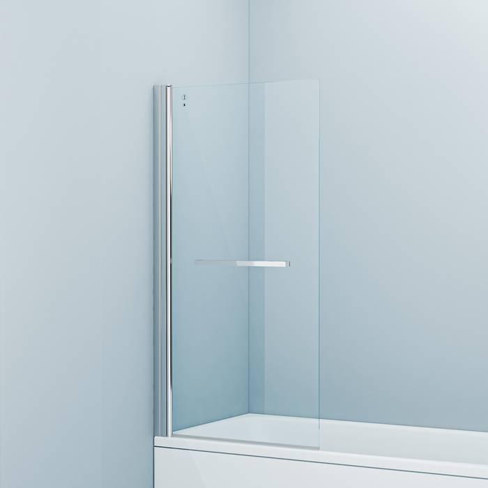 Фото Шторка на ванну, глянцевый алюминиевый профиль 75х145, IDDIS Slide SLI5CS7i90 0