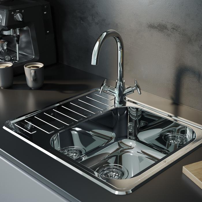 Фото Смеситель для кухни, Acros, IDDIS, ACRSB00i05 1