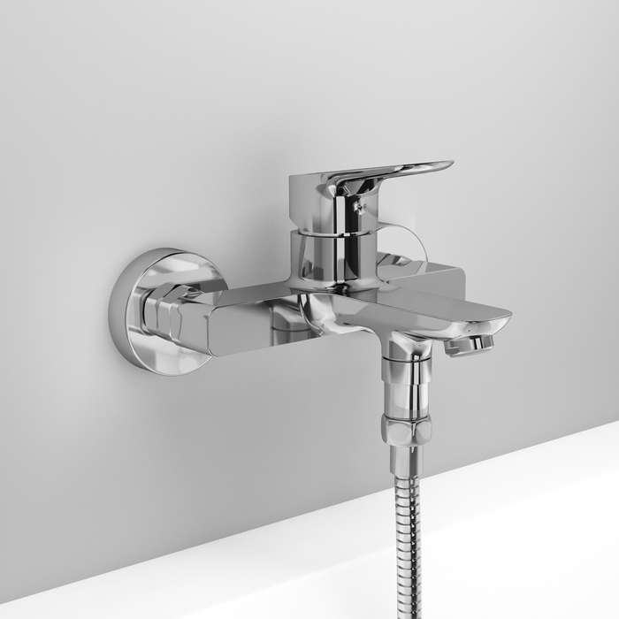 Фото Смеситель для ванны, Spin, IDDIS, SPISB02i02WA 5