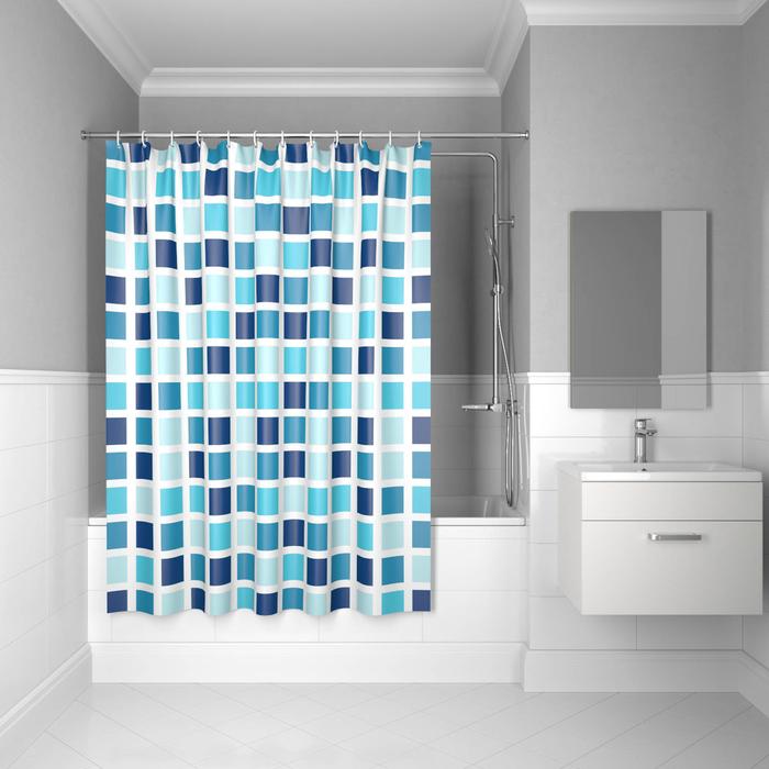 Фото Штора для ванной комнаты, 200*180см, полиэстер, B63P218i11, IDDIS 0