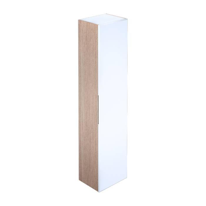 Фото Пенал для ванной комнаты, подвесной, 40 см, IDDIS Mirro MIR4000i97, белый 0