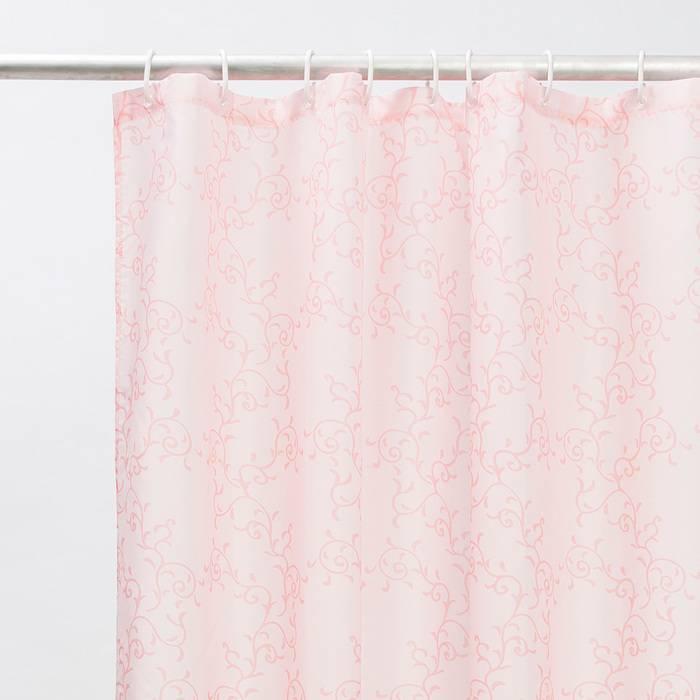 Фото Штора для ванной комнаты, 200x180 см полиэстер, IDDIS Basic B55P218i11 2