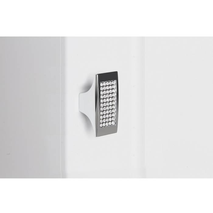 Фото Пенал для ванной комнаты, подвесной, 36 см, IDDIS Rise RIS36W0i97, белый 5
