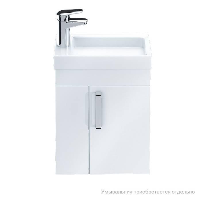 Фото Тумба для ванной комнаты, подвесная, 40 см, подходит умывальник 0014000U28 IDDIS Torr TOR40W1i95, белая 1