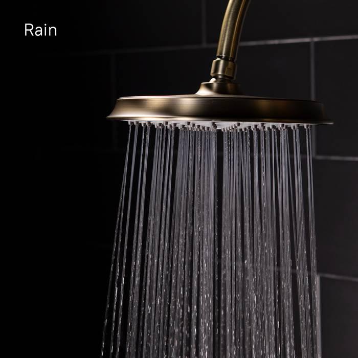 Фото Смеситель для ванны с верхним душем, IDDIS Oldie OLDBR3Fi06 8