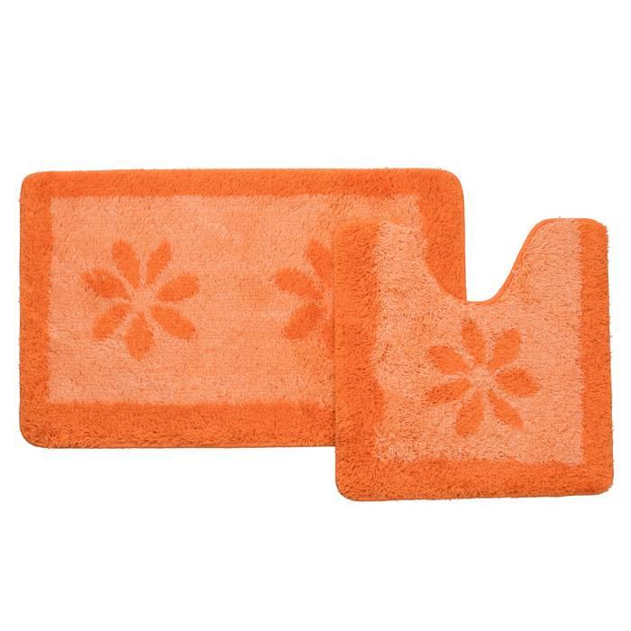 Фото Набор ковриков для ванной комнаты, 50x80+50x50 см, IDDIS 042A580i13 0