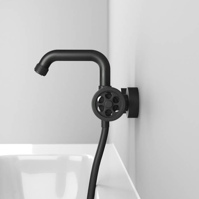 Фото Смеситель для ванны IDDIS Grange GRAGMR2i02, графит 6