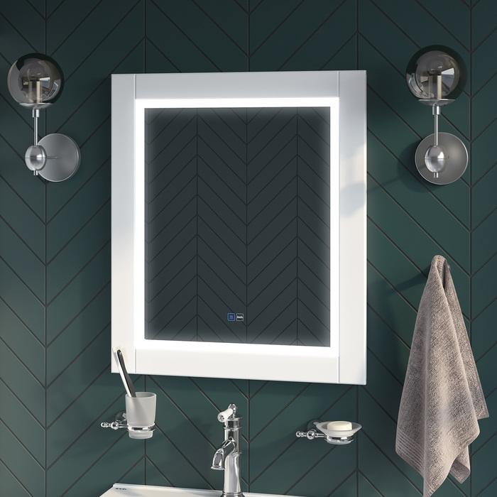 Фото Зеркало с подсветкой, 60 см, Oxford, IDDIS, ЗЛП111 1