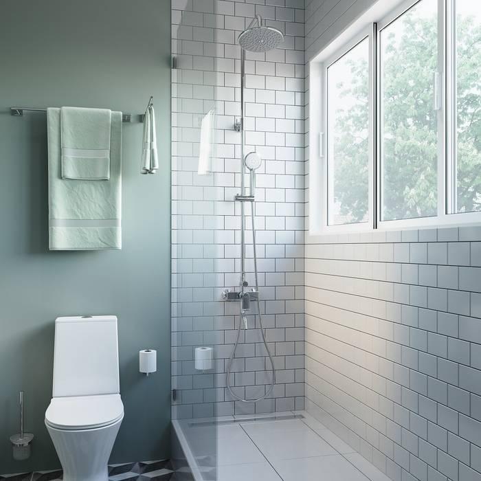 Фото Смеситель для ванны с верхним душем, IDDIS Edifice EDISB3Fi06 1