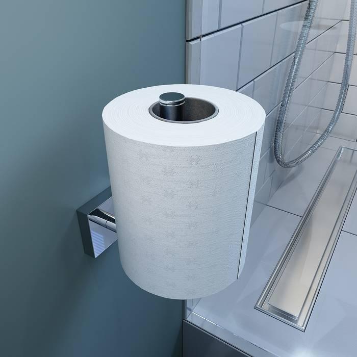Фото Держатель запасного рулона туалетной бумаги, латунь, IDDIS Edifice EDISBS0i43 1