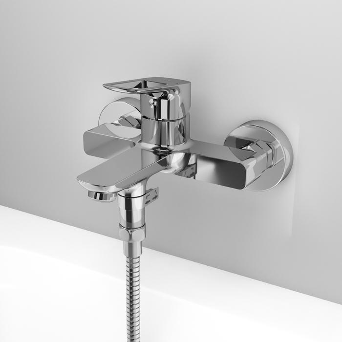 Фото Смеситель для ванны, Spin, IDDIS, SPISB02i02WA 4