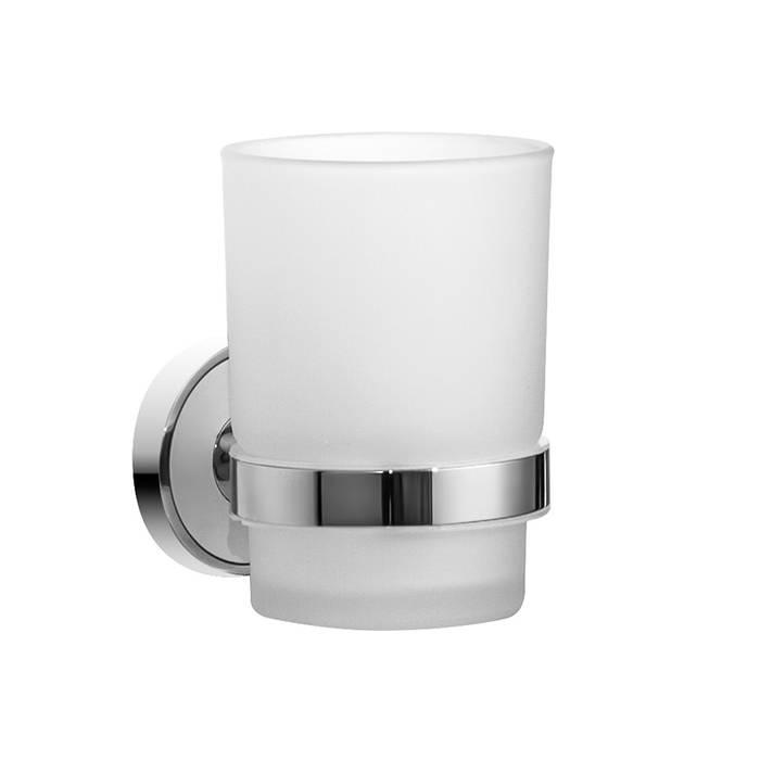 Фото Подстаканник одинарный матовое стекло, латунь, IDDIS Calipso CALMBG1i45 0