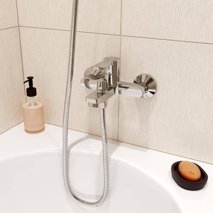 Фото Смеситель для ванны IDDIS Sena SENSB00i02WA 1
