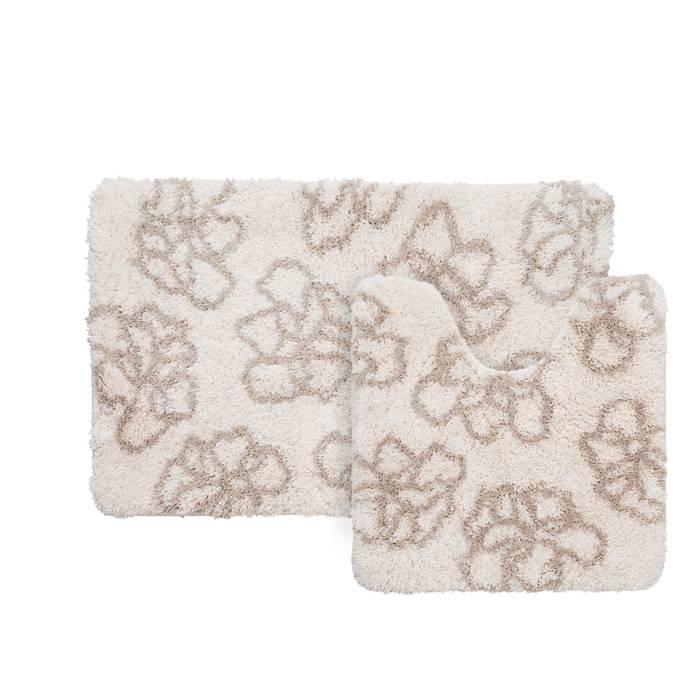 Фото Набор ковриков для ванной комнаты, 50x80+50x50 см,полиэстер, IDDIS Basic 490M580i13 0