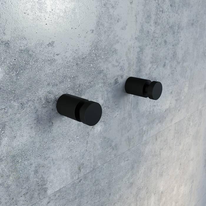 Фото Комплект одинарных крючков, сплав металлов, IDDIS Petite PET2SB1i41, черный матовый 1