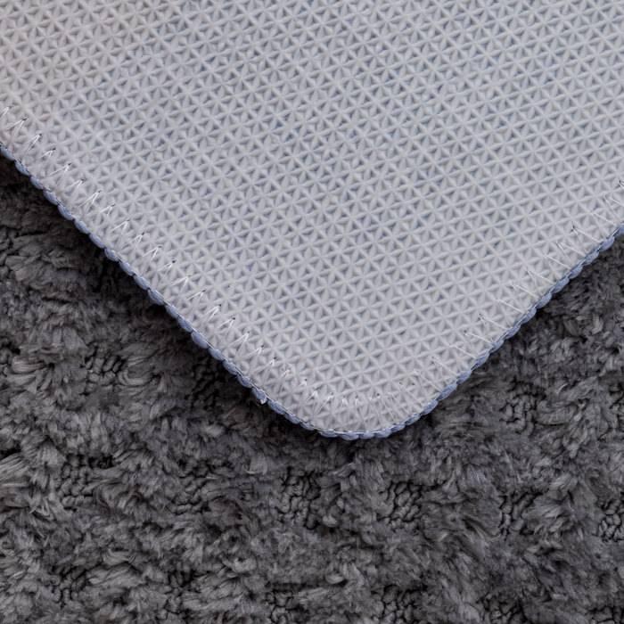 Фото Набор ковриков для ванной комнаты, 45x65 + 45x50 см, микрофибра, IDDIS Promo P36M465i12 5