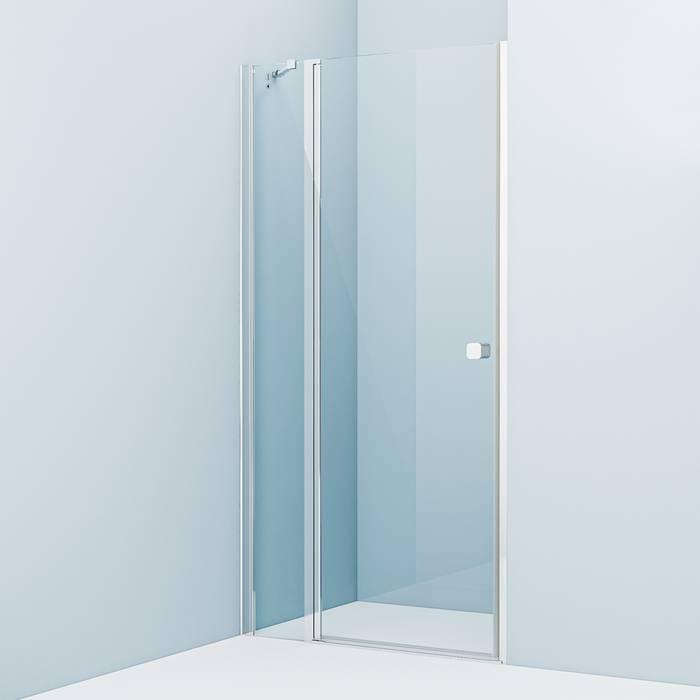 Фото Душевая дверь распашная, глянцевый алюминиевый профиль 100х195, IDDIS Ray RAY6CP0i69 0