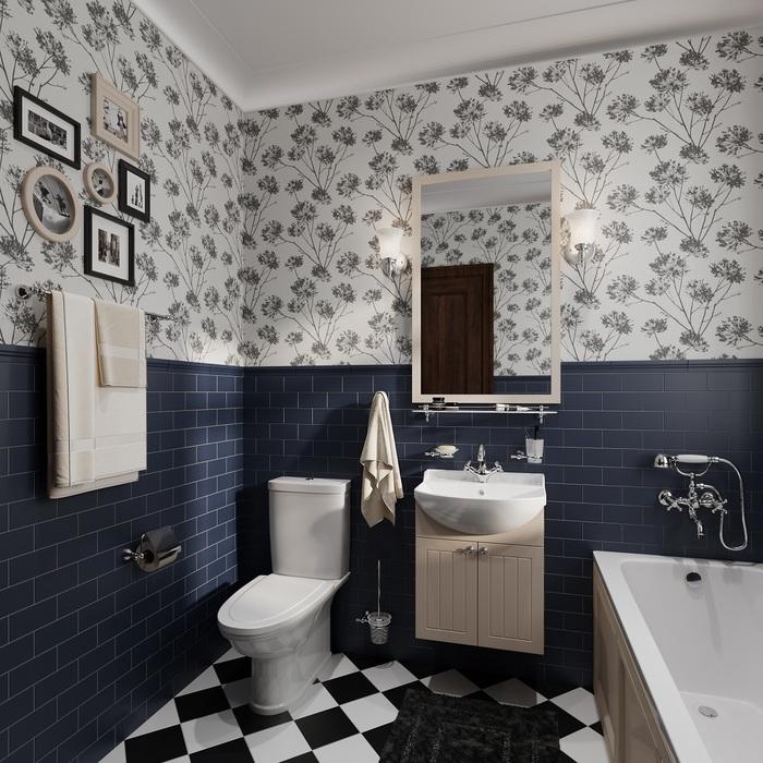 Фото Держатель для туалетной бумаги с крышкой, глянцевый хром, сплав металлов, Retro, IDDIS, RETSSC0i43 4