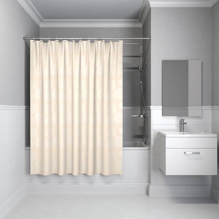 Фото Штора для ванной комнаты, 180x180 см полиэстер, IDDIS Basic B57P118i11 0