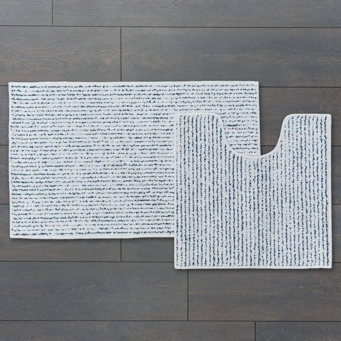 Фото Набор ковриков для ванной комнаты, 50x80 + 50x50 см, хлопок и полиэстер, IDDIS Basic B14M580i12 1