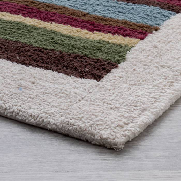 Фото Набор ковриков для ванной комнаты, 70x120+50x50 см, Хлопок, IDDIS 440C512i13 4