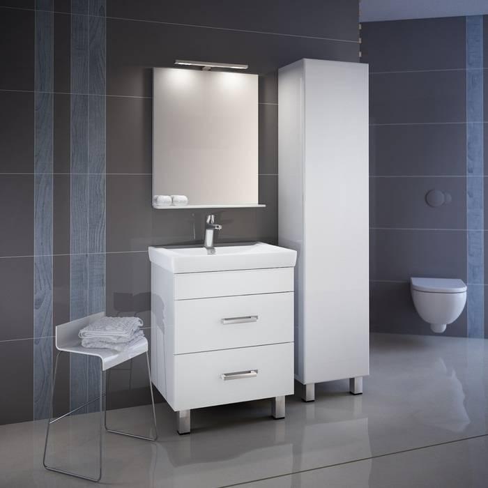Фото Пенал для ванной комнаты, напольный, 40 см, IDDIS Custo CUS40W0i97, белый 2