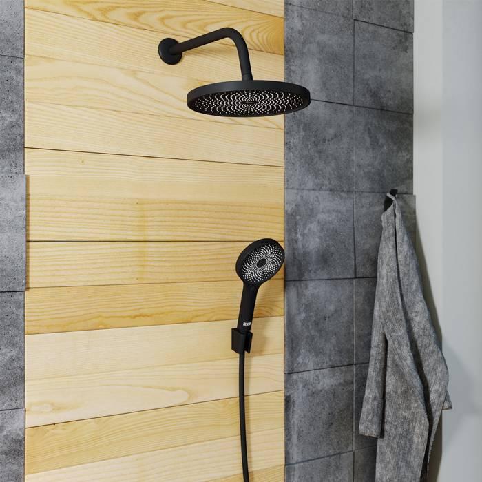 Фото Шланг для душа ПВХ, 1,5 м IDDIS Shower Hose 04P15BLi19, черный 2