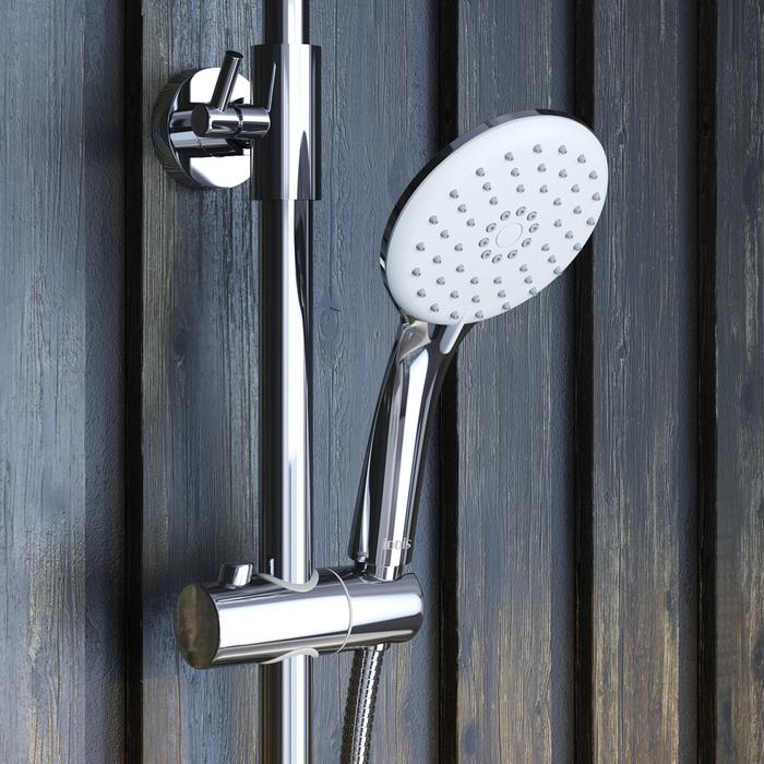 Фото Смеситель для ванны с верхним душем, IDDIS Shelfy SHESB3Fi06 10