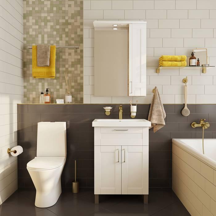 Фото Держатель для туалетной бумаги без крышки, сплав металлов, IDDIS Oldie OLDBR00i43, бронза 2