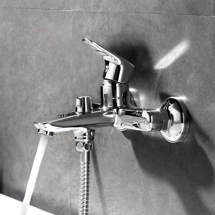 Фото Смеситель для ванны с керамическим дивертором IDDIS Zodiac ZODSB02i02WA 1