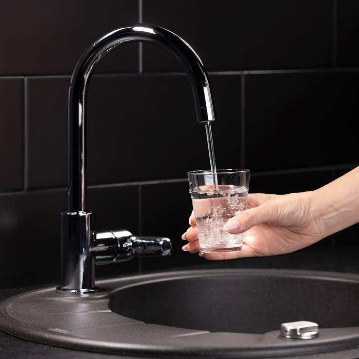 Фото Смеситель для кухни с каналом для фильтрованной воды, IDDIS Cuba CUBSBFJi05 6