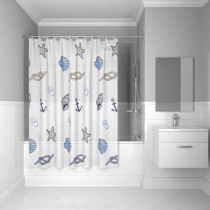 Фото Штора для ванной комнаты, 180x180 см PEVA, IDDIS Promo P24PV11i11 0