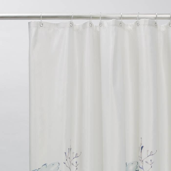 Фото Штора для ванной комнаты, 200x180 см полиэстер, IDDIS Décor D11P218i11 3