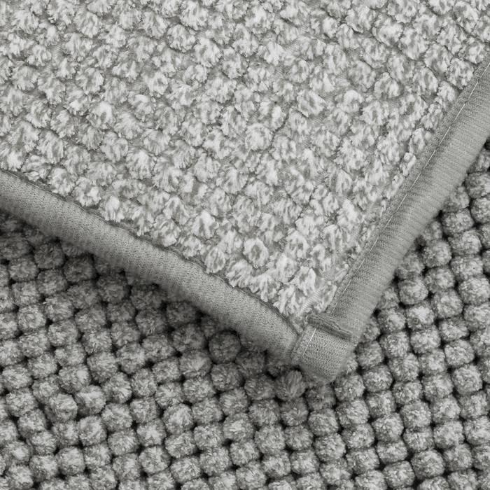 Фото Набор ковриков для ванной комнаты, 50x80 + 50x50 см, шенилл, IDDIS Promo P38M580i12 5
