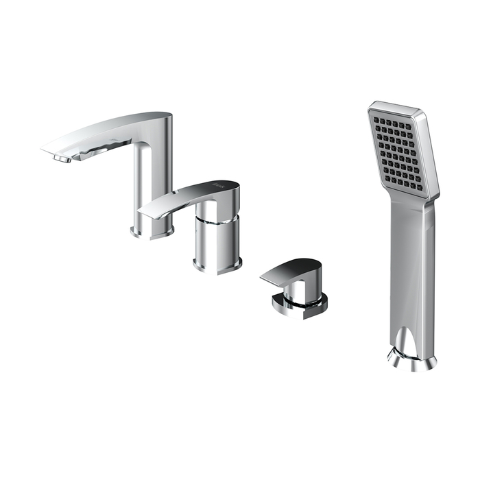 Фото Смеситель для ванны на 4 отверстия, Vane, IDDIS, VANSB40I07 0