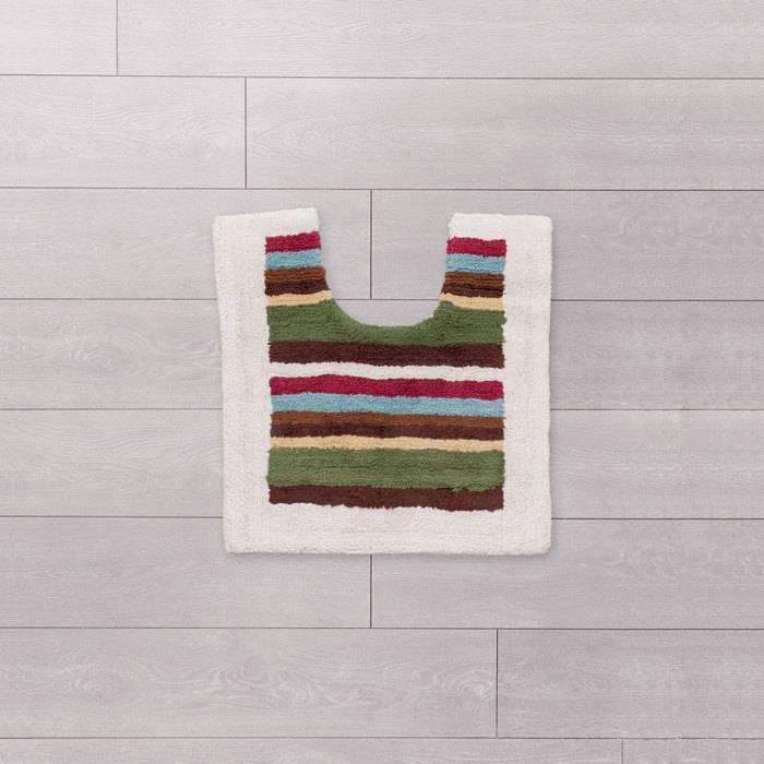 Фото Набор ковриков для ванной комнаты, 70x120+50x50 см, Хлопок, IDDIS 440C512i13 3