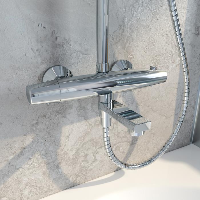Фото Cмеситель термостатический с верхним душем, IDDIS Torr TORSBBTi06 5