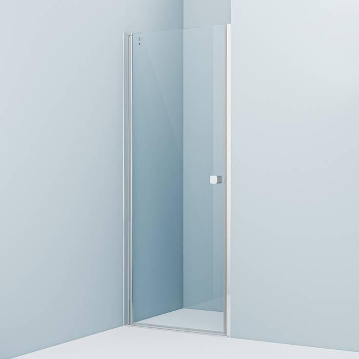 Фото Душевая дверь распашная, глянцевый алюминиевый профиль 80х195, IDDIS Ray RAY6CP8i69 0