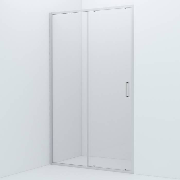 Фото Душевая дверь алюминиевый профиль 120х195 IDDIS Zodiac ZOD6CS2i69, глянцевый 0