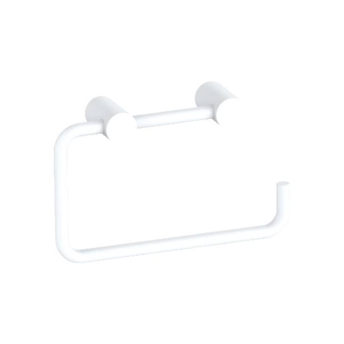 Фото Держатель для туалетной бумаги без крышки, сплав металлов, IDDIS Petite PETWT00i43, белый матовый 0