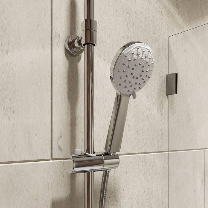 Фото Смеситель для ванны с верхним душем, IDDIS Male MALSB3Fi06 4