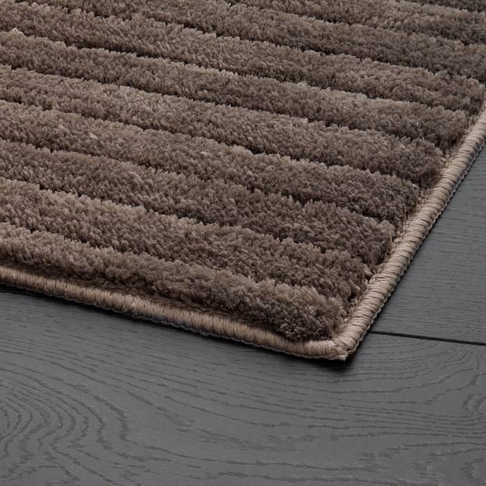 Фото Набор ковриков для ванной комнаты, 55x85 + 50x50 см, микрофибра, IDDIS Basic B17M585i12 2