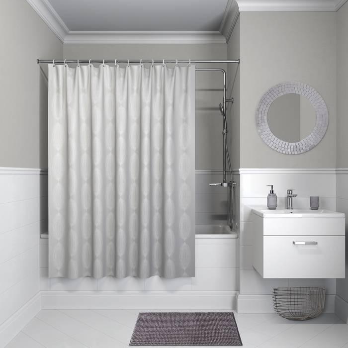 Фото Штора для ванной комнаты, 200x180 см полиэстер, IDDIS Décor D02P218i11 0